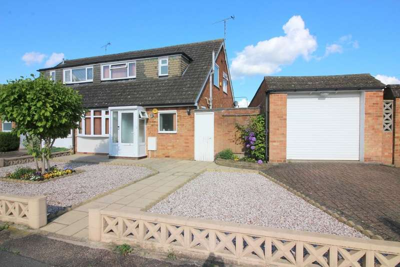 3 Bedrooms Semi Detached House for sale in Chiltern Road, Barton Le Clay, Bedfordshire, MK45 4PB