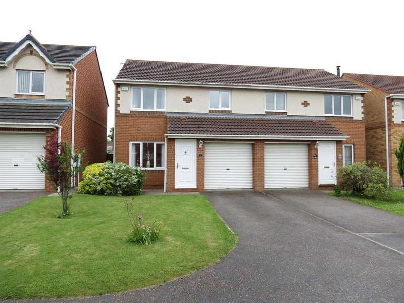 3 Bedrooms Semi Detached House for sale in Chillingham Grove, Peterlee, SR8 1QJ
