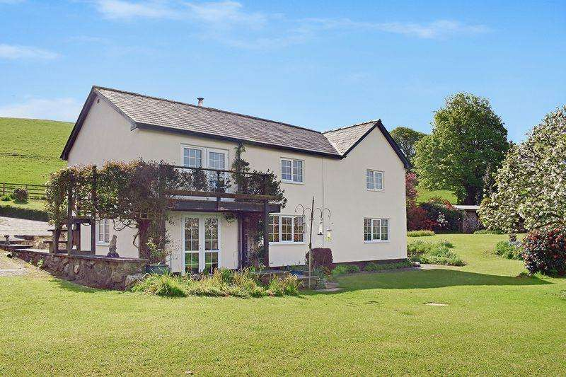 4 Bedrooms Detached House for sale in Herodsfoot, Cornwall