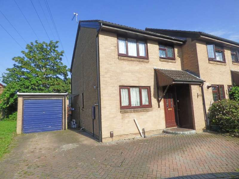 3 Bedrooms Semi Detached House for sale in Clover Drive, Creekmoor