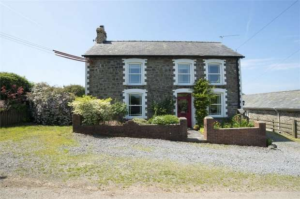 4 Bedrooms Detached House for sale in Mydroilyn, Lampeter, Ceredigion