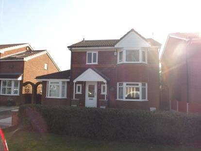 3 Bedrooms Detached House for sale in Westbrook Cresent, Westbrook, Warrington, Cheshire