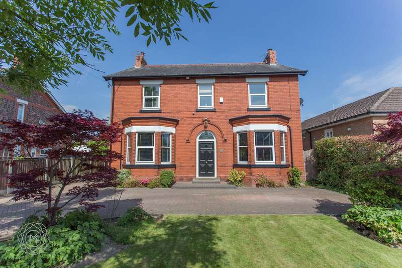 4 Bedrooms Detached House for sale in Hob Hey Lane, Culcheth, Warrington, WA3