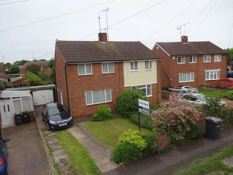 2 Bedrooms Semi Detached House for sale in Lilac Grove, Luton.