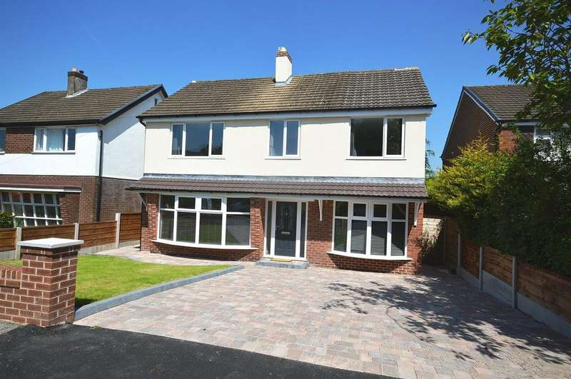 4 Bedrooms Detached House for sale in Greenwood Road, Lymm