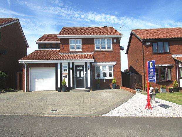 4 Bedrooms Detached House for sale in WEYMOUTH DRIVE, SEAHAM, SEAHAM DISTRICT