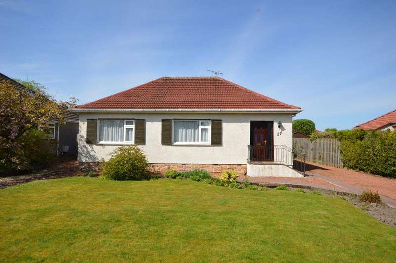 3 Bedrooms Detached Bungalow for sale in 27 Beech Road, Lenzie, Glasgow, G66 4HL