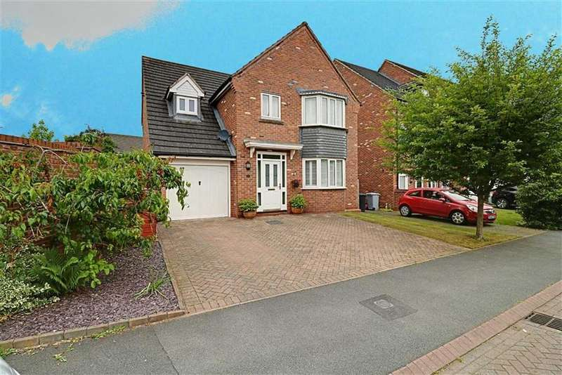 4 Bedrooms Detached House for sale in Chater Drive, Nantwich