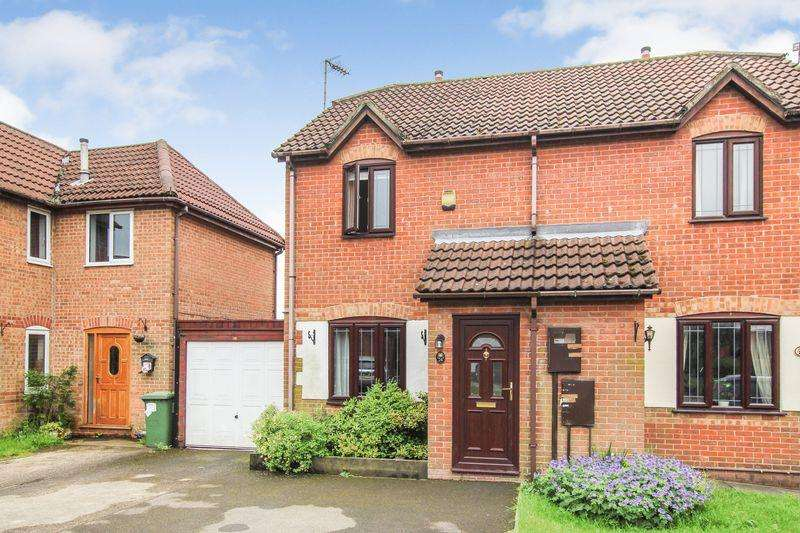 2 Bedrooms Semi Detached House for sale in Cantley Road, Riddings