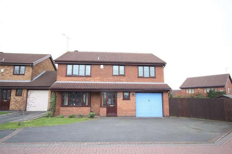 5 Bedrooms Detached House for sale in The Rowans, Woodlands Park, Bedworth, Warwickshire