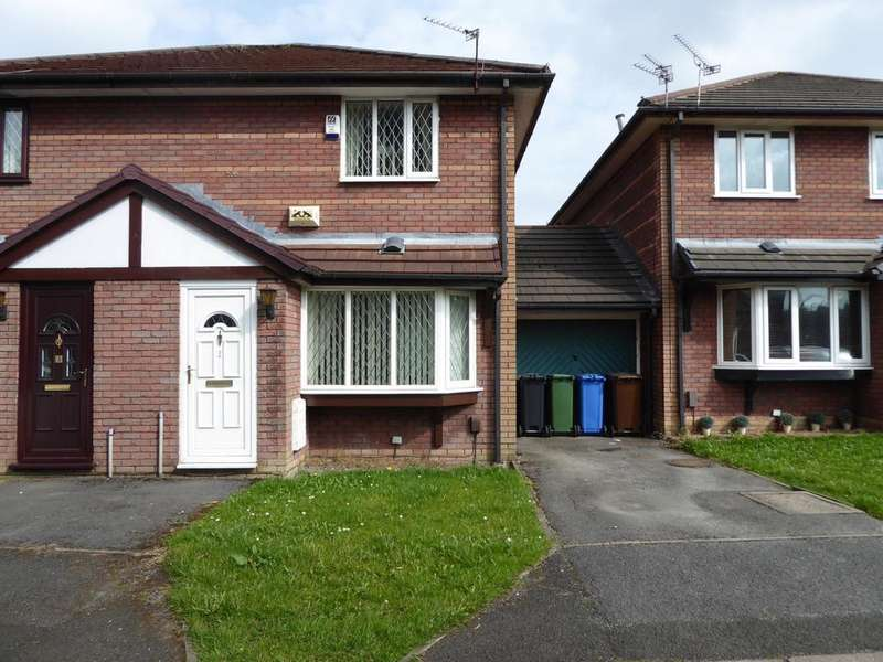 2 Bedrooms Semi Detached House for sale in Foxley Close, Droylsden, M43
