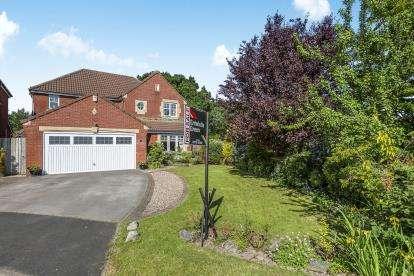 4 Bedrooms Detached House for sale in Ryding Close, Farington Moss, Leyland, PR26