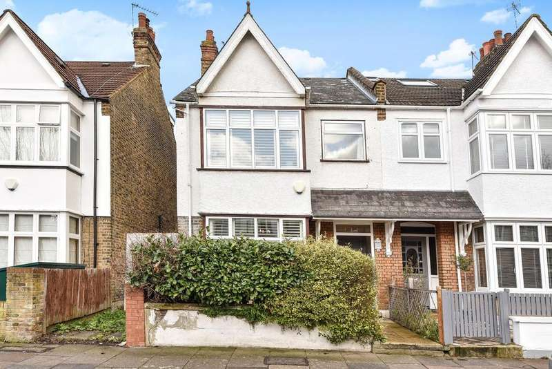 4 Bedrooms End Of Terrace House for sale in Weymouth Avenue, Ealing