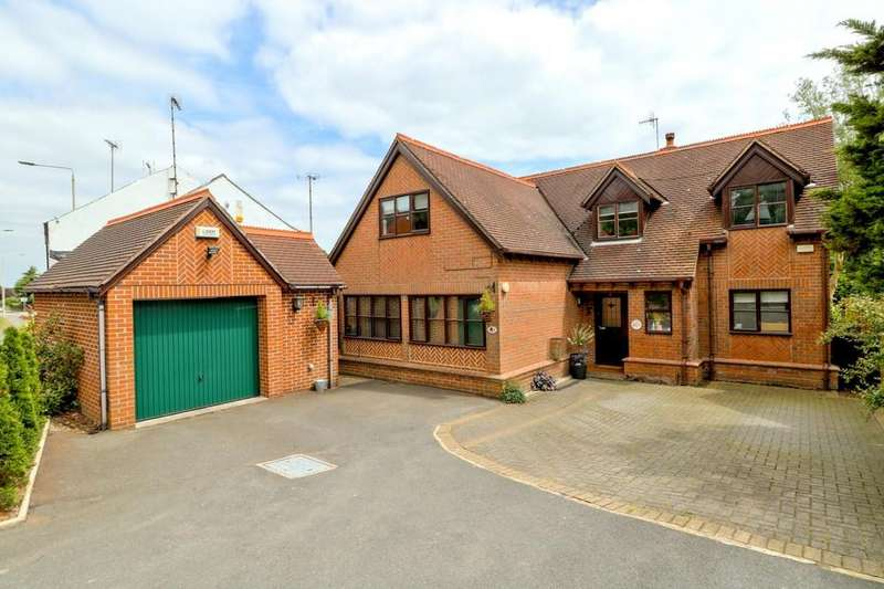 4 Bedrooms Detached House for sale in Station Hill, Swannington