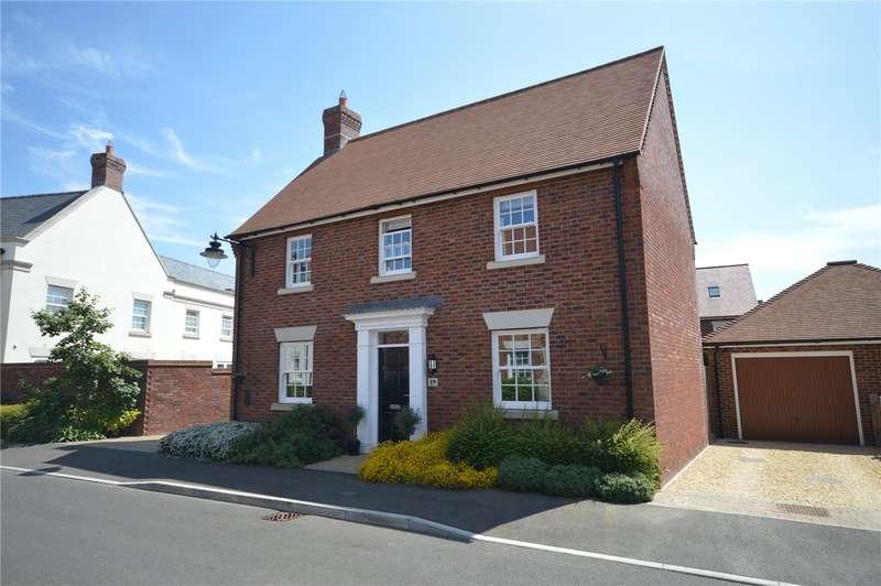 3 Bedrooms Detached House for sale in Hillrick Crescent, Yeovil, Somerset, BA21