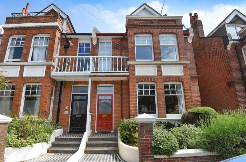 4 Bedrooms Terraced House for sale in Chatsworth Road Brighton East Sussex BN1