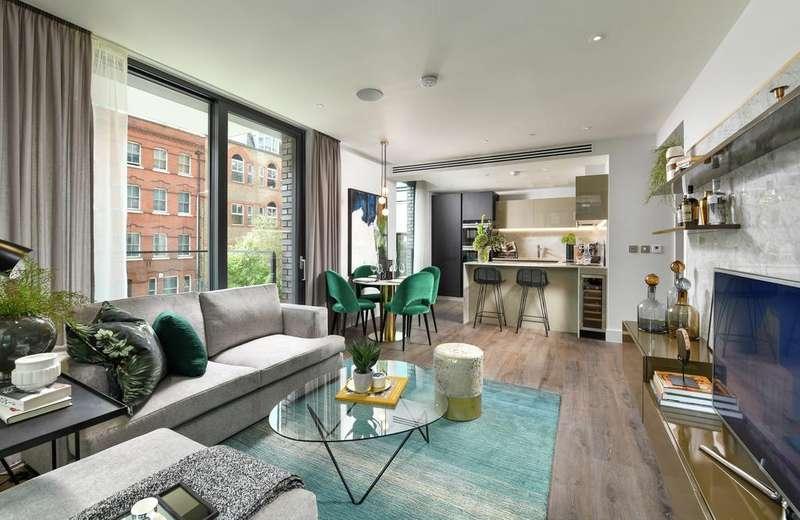 3 Bedrooms Apartment Flat for sale in Goodman's Fields, Neroli House, London