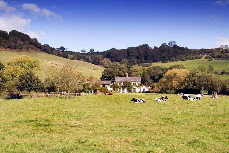 5 Bedrooms Detached House for sale in Bettiscombe, Bridport, Dorset