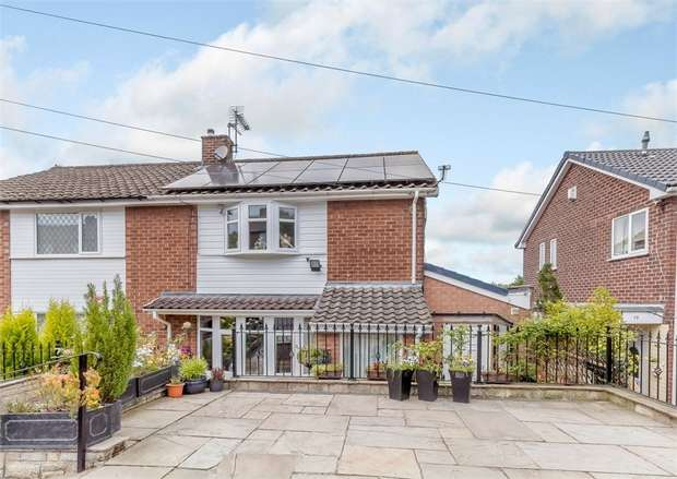 3 Bedrooms Semi Detached House for sale in Arnold Road, Hyde, Greater Manchester