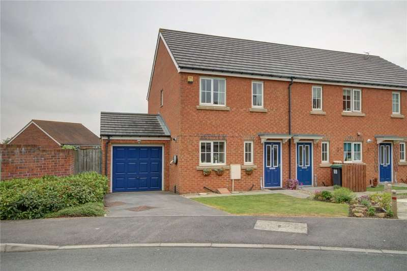3 Bedrooms Semi Detached House for sale in Meadowfield, Burnhope, Durham, DH7