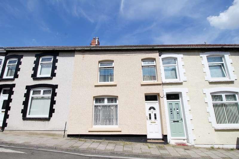 3 Bedrooms Terraced House for sale in Derlwyn Street, Phillipstown, New Tredegar, NP24