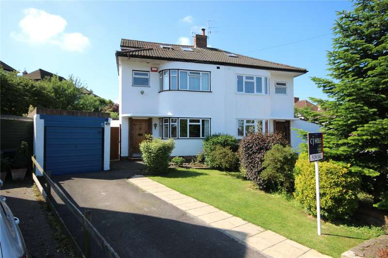4 Bedrooms Detached House for sale in Croft View Henleaze Bristol BS9