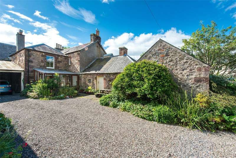4 Bedrooms Semi Detached House for sale in Loanfoot, Skirling, Biggar, Scottish Borders, ML12