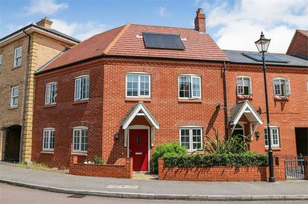 4 Bedrooms Terraced House for sale in Wayland Road, Great Denham, Bedford