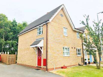 2 Bedrooms End Of Terrace House for sale in Holcot Court, Winsford, Cheshire