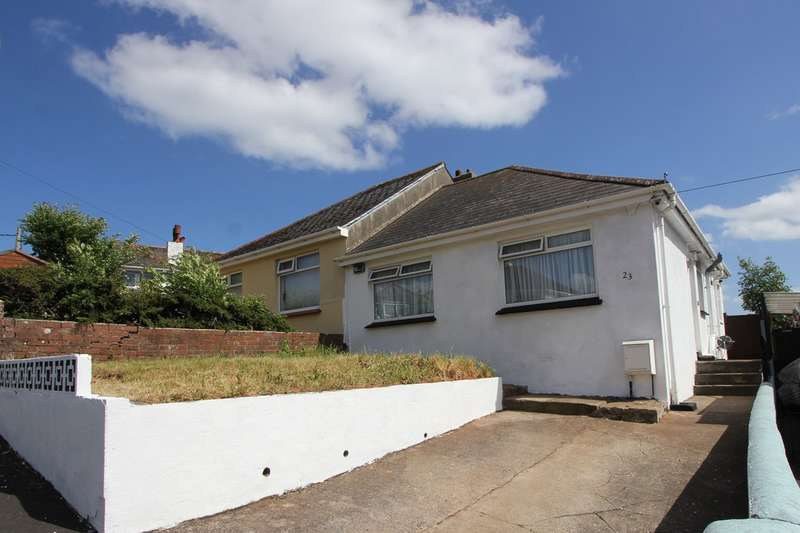 2 Bedrooms Semi Detached Bungalow for sale in Ailescombe Road, Paignton