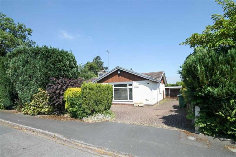 2 Bedrooms Detached Bungalow for sale in Forest Close, Cuddington