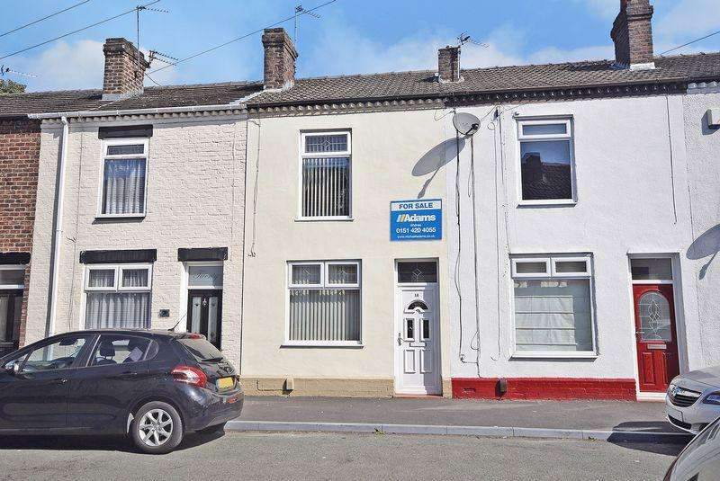 2 Bedrooms Terraced House for sale in Bradshaw Street, Widnes