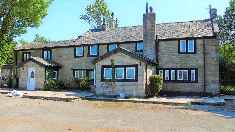 5 Bedrooms Detached House for sale in Lower Allescholes Farm, Allescholes Road, Todmorden, OL14