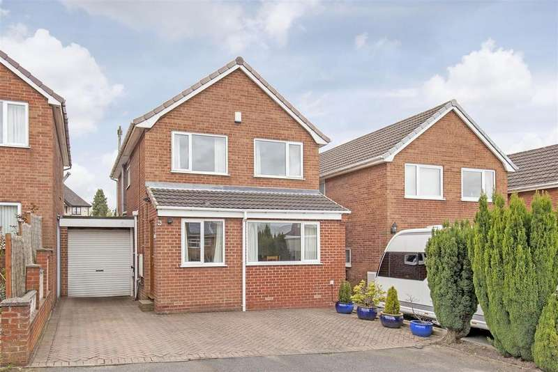 3 Bedrooms Detached House for sale in Brackendale Close, Brimington, Chesterfield