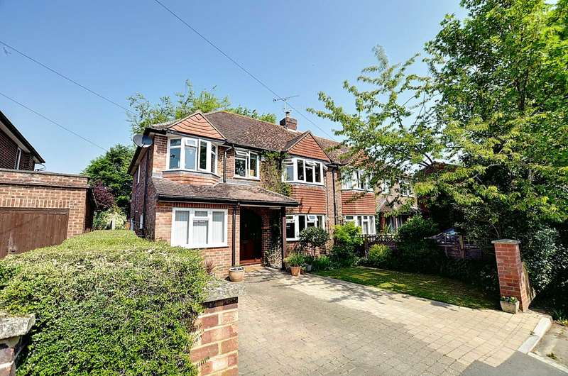 4 Bedrooms Semi Detached House for sale in Holland Road, Marlow