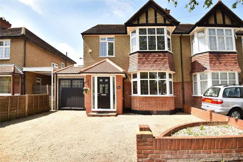 4 Bedrooms Semi Detached House for sale in Crescent Gardens, Ruislip, Middlesex, HA4