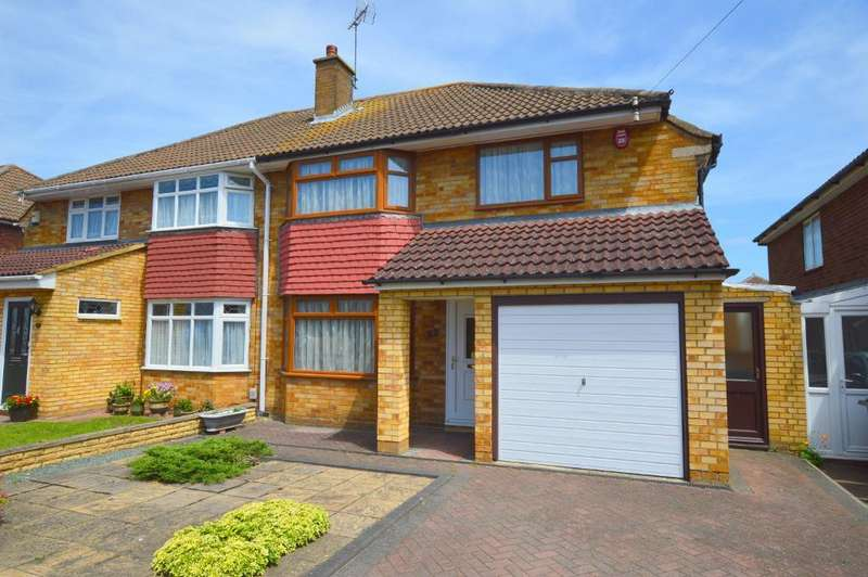 3 Bedrooms Semi Detached House for sale in Ravenbank Road, Putteridge, Luton, LU2 8EJ