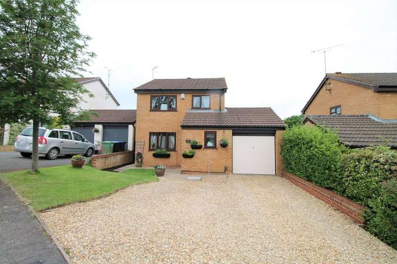 3 Bedrooms Detached House for sale in Brookfield Road, Market Harborough