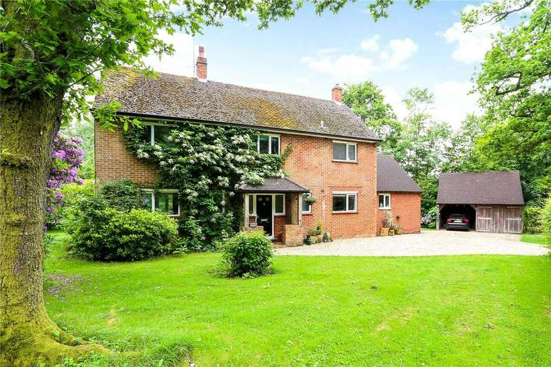 4 Bedrooms Detached House for sale in Hyden Wood, East Meon, Petersfield, Hampshire, GU32