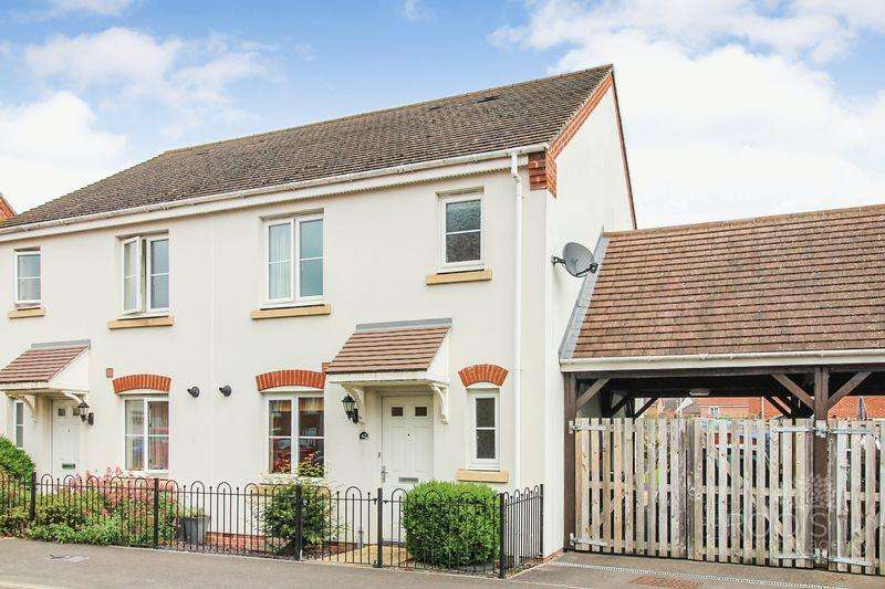 3 Bedrooms Semi Detached House for sale in Rotary Way, Thatcham