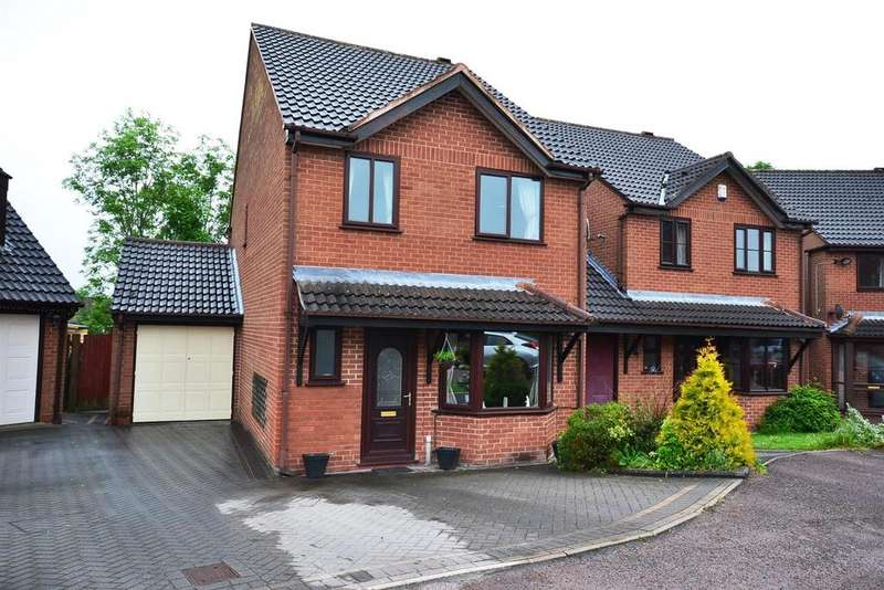 4 Bedrooms Link Detached House for sale in Dellow Grove, Alvechurch
