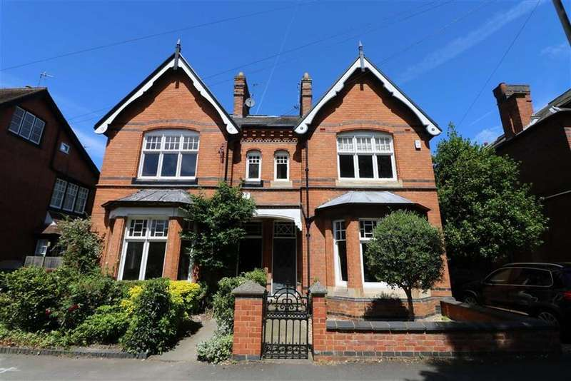 4 Bedrooms Semi Detached House for sale in Knighton Drive, Stoneygate, Leicester