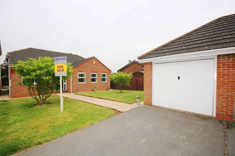 3 Bedrooms Detached Bungalow for sale in Longfield Road, MELTON MOWBRAY