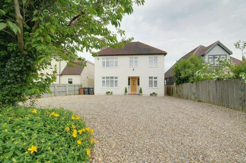 5 Bedrooms Detached House for sale in Downfield Road, Hertford Heath