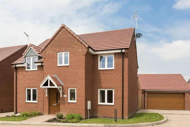 4 Bedrooms Detached House for sale in Plot 9 Wellington Gardens, Bidford On Avon