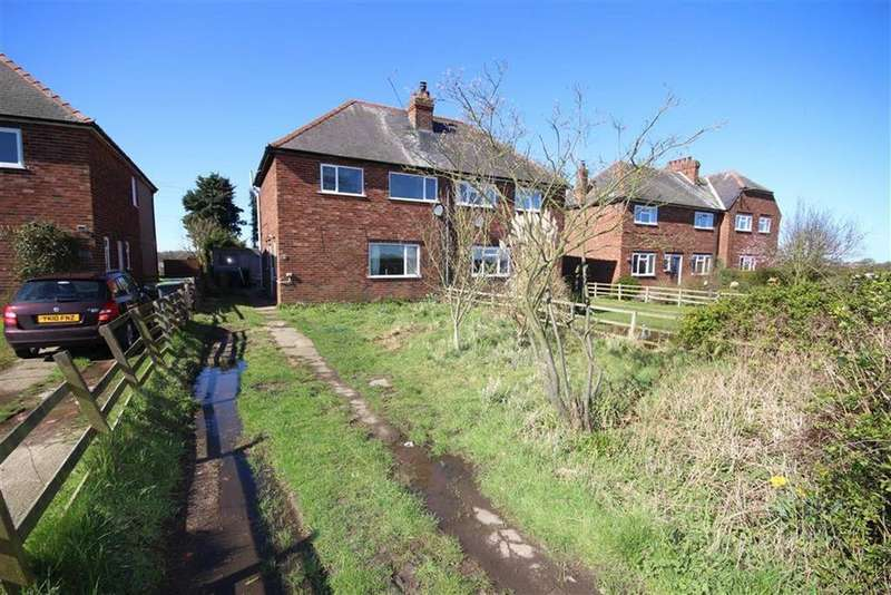 3 Bedrooms End Of Terrace House for sale in Saxilby Road, Skellingthorpe, Lincoln, Lincolnshire