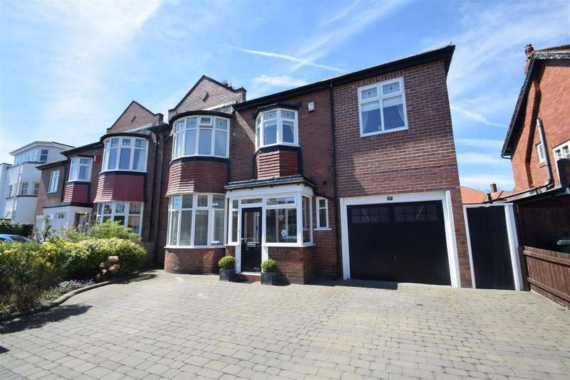4 Bedrooms Semi Detached House for sale in Shaftesbury Avenue, Whitley Bay