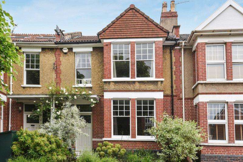 4 Bedrooms Terraced House for sale in Claremont Avenue, Bishopston/Redland borders