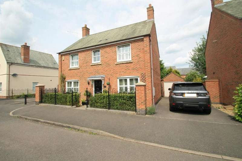 4 Bedrooms Detached House for sale in Cooks Road, Aylesbury