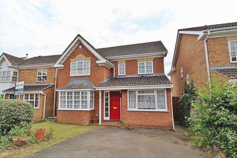 4 Bedrooms Detached House for sale in Primrose Close, Biggleswade